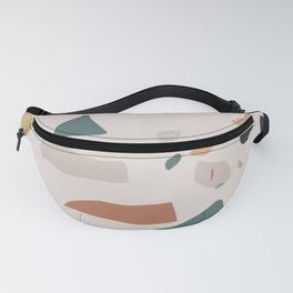 Terrazzo on earth Fanny Pack