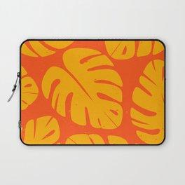 Monstera Leaf Print 1 Laptop Sleeve