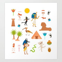 Ancient Egypt Art Print