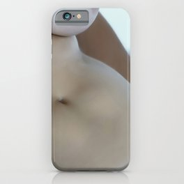 Naked Woman Taking a Bath iPhone Case