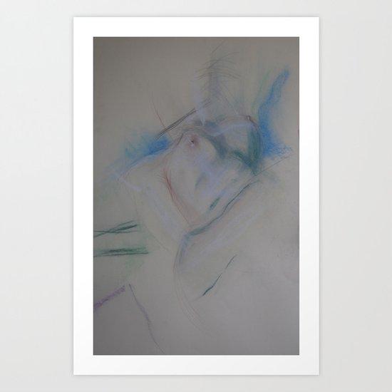 Klooster Series: Female Nude #219 Art Print