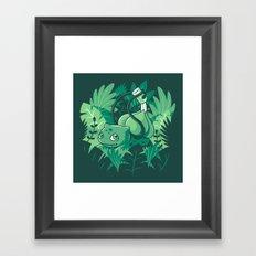 The Gardener Framed Art Print