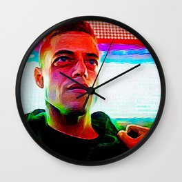 < fsociety00.dat > - Mr. Robot Wall Clock