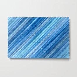 Ambient 1 in Blue Metal Print