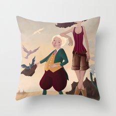 Aren and Than Throw Pillow