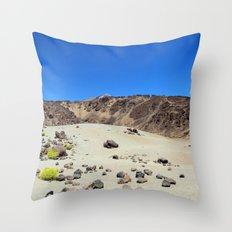 sulfur Throw Pillow