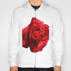 Red Rose Isolated Hoody