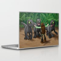 how to train your dragon Laptop & iPad Skins featuring How to Train Your Dinosaur by Jeremy Kohrs