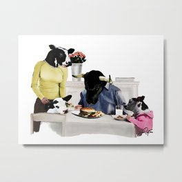 You Are Who You Eat! #2 Metal Print