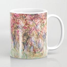 "Claude Monet ""House among the Roses"", 1917 - 1919 Coffee Mug"