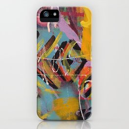 Graffiti Style Arrow Marking Making - Second in Series iPhone Case