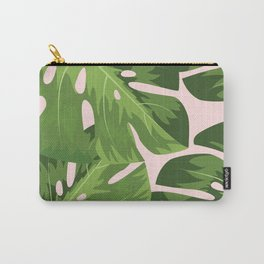 Topical Leafs Carry-All Pouch
