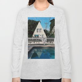 Floridian log cabin Long Sleeve T-shirt