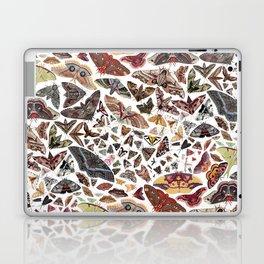 Moths of North America Pattern Laptop & iPad Skin