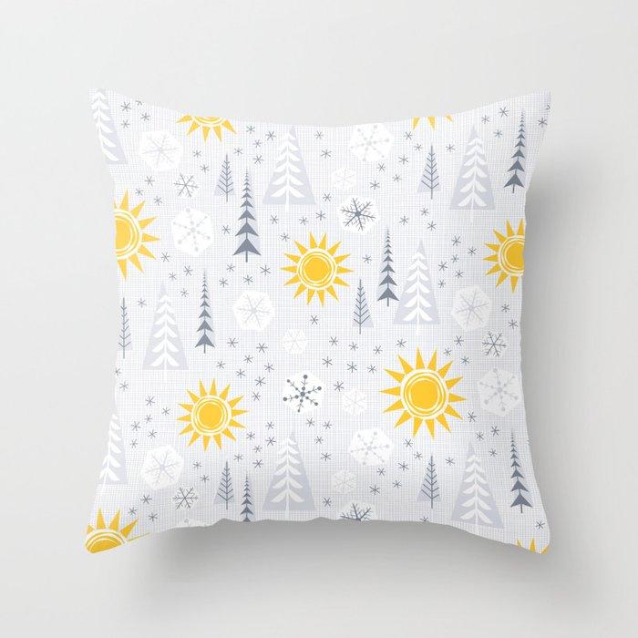 Winter Sunshine Deko-Kissen