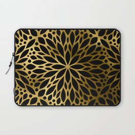 Hollywood Classically Ornate Art Deco Pattern Laptop Sleeve