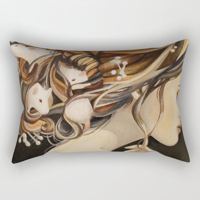 Rats Nest Rectangular Pillow
