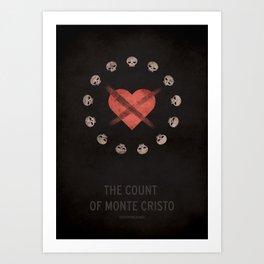 The Count of Monte Cristo Art Print