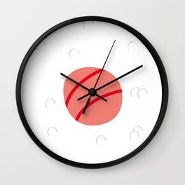 Maki sushi lover Wall Clock
