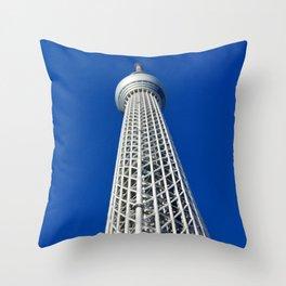 Skytree Throw Pillow