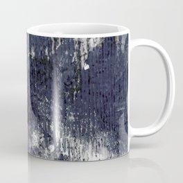 wood flower_blue Coffee Mug