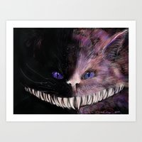 cheshire Art Prints featuring Cheshire by Acosta Images