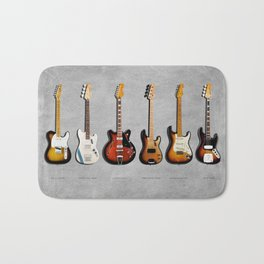 The Guitar Collection Bath Mat