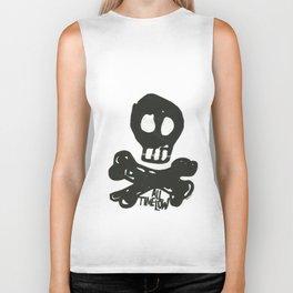 All Time Low Skull and Cross Bones Biker Tank
