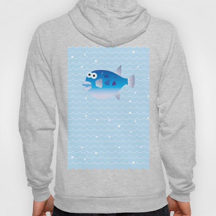 Globefish and Wave Hoody