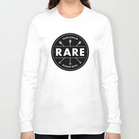 rare Long Sleeve T-shirts featuring Rare by Taylor Shute