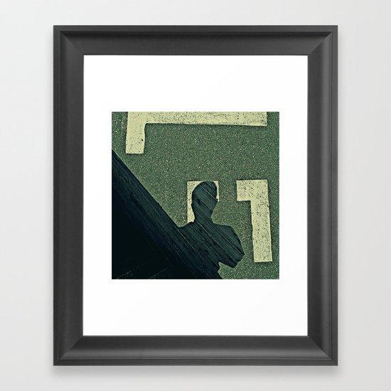 PROMENEUR Framed Art Print