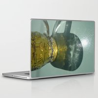 hydra Laptop & iPad Skins featuring Beer glass- Hydra by Andrew Brown
