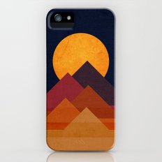 Full moon and pyramid Slim Case iPhone (5, 5s)