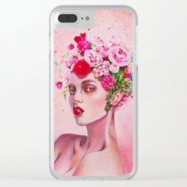 Peachy Clear iPhone Case