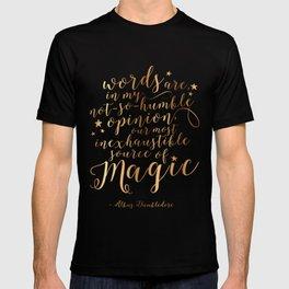 Dumbledore's Magic Words T-shirt