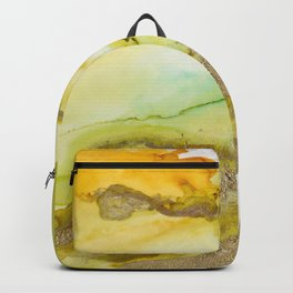 Gold Abstract 3 Backpack