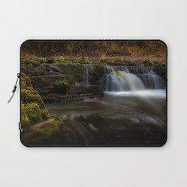 Afon Pyrddin waterfall Pontneddfechan Laptop Sleeve