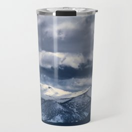 Snowcapped Sierras Travel Mug