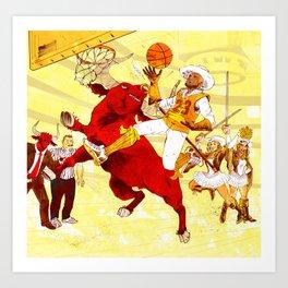 Cavs VS Bulls Art Print