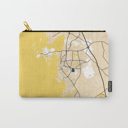 Varberg Yellow City Map Carry-All Pouch