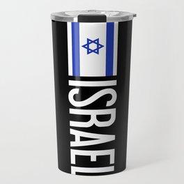 Israel: Israeli Flag & Israel Travel Mug