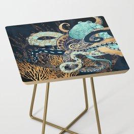 Metallic Octopus II Side Table