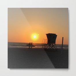 California Sunsets Metal Print
