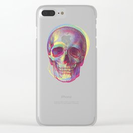 acid calavera Clear iPhone Case