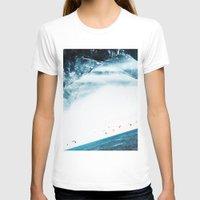 swim T-shirts featuring Teal Swim by Stoian Hitrov - Sto
