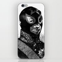 wrestling iPhone & iPod Skins featuring Wrestling mask 2 by DIVIDUS