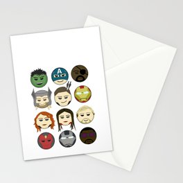 Avenger Emojis :) Stationery Cards