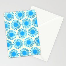 Vintage Flower_Turquoise Stationery Cards