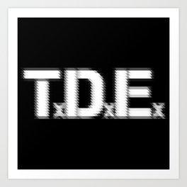 TDE - Top Dawg Entertainment - Kendrick Lamar Art Print