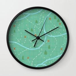 There's Treasure Everywhere Wall Clock